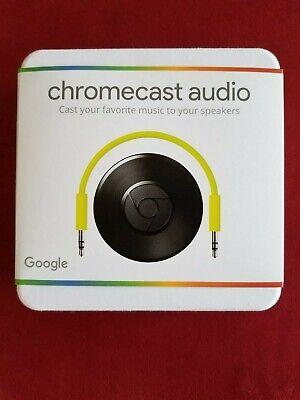 BRAND NEW Sealed Google Chromecast Audio - WiFi Audio Streaming