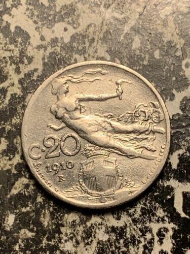 1910 Italy 20 Centesimi Lot#Q7671