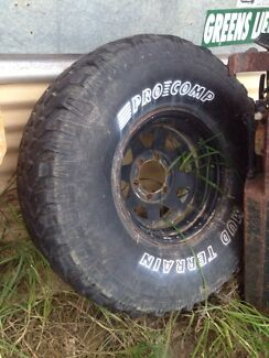"35"" mud tyre Frankston Frankston Area Preview"