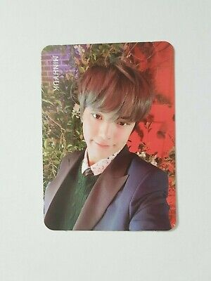 "K-POP MONSTA X Mini Album ""WE ARE THERE"" Official MINHYUK BLACK Photocard"