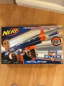 Nerf Retaliator Gun - Only Used Once