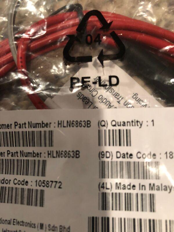 Motorola Accessory Connector HLN6863B for XTL5000 XTL2500 XTL1500 APX Mobiles