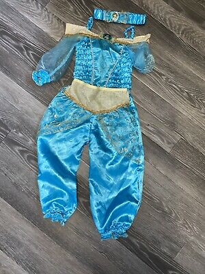 Jasmine Disney Princess Dress Up Age 3-4 Years Trousers Top & Headband