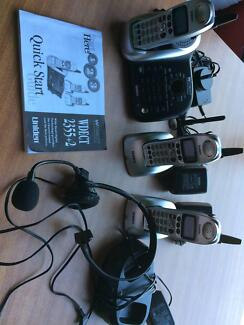 Uniden WDECT 2355+2 Cordless phone and Answering Machine