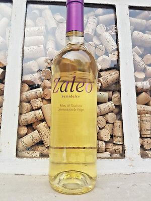 wieder da!  6x0,75l halbtrockener Weißwein semidulce Spanien 11%volJahrgang 2016
