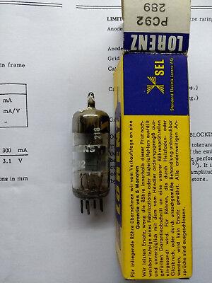 PC92 Elektronen-Röhre, gebraucht, Hersteller Siemens