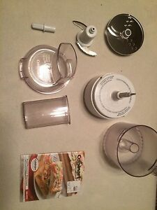 Cuisinart stand mixer food processor attachment