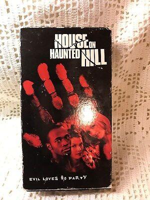 House on Haunted Hill (VHS, 2000) Geoffrey Rush Chris Kattan      Halloween](Halloween Haunts Vhs)