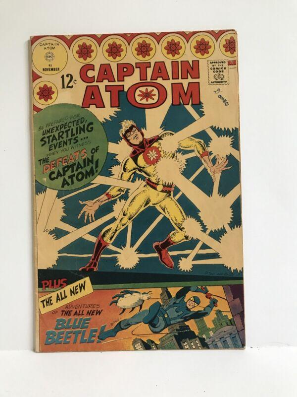 Captain Atom #83 - 1st Blue Beetle App.