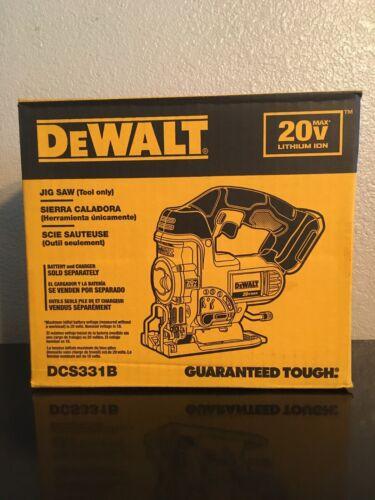 New DeWalt DCS331B 20V Cordless Battery Variable Speed Jig S