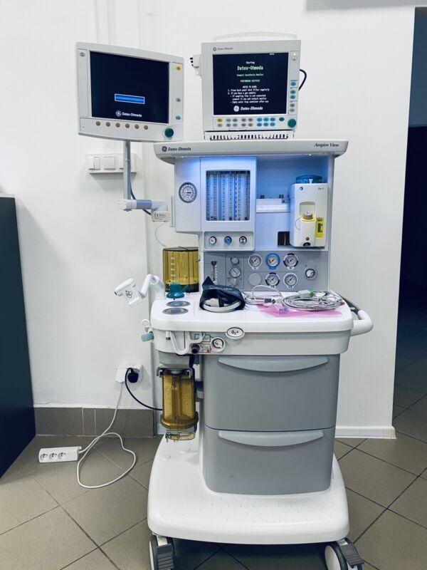 Datex Ohmeda Aespire View Anesthesia Machine
