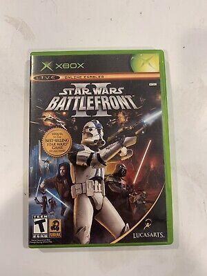 Star Wars: Battlefront II (Xbox, 2005) 2 OG Original Complete Authentic
