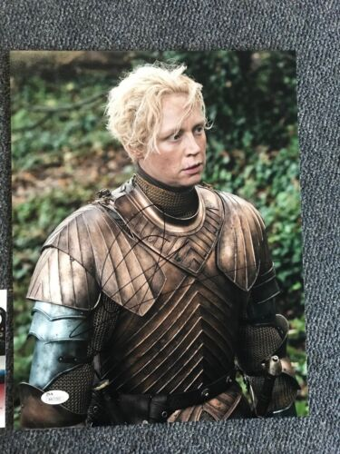 Game of Thrones Gwendoline Christie Autographed Signed 11x14 Photo JSA COA #1