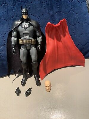 BATMAN ACTION FIGURE DC COMICS MULTIVERSE GOTHAM BY GASLIGHT + LEX LUTHOR BAF