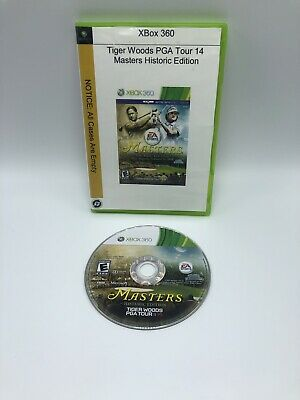 Tiger Woods PGA Tour 14 Masters Historic Edition Xbox 360 *Disc Only*
