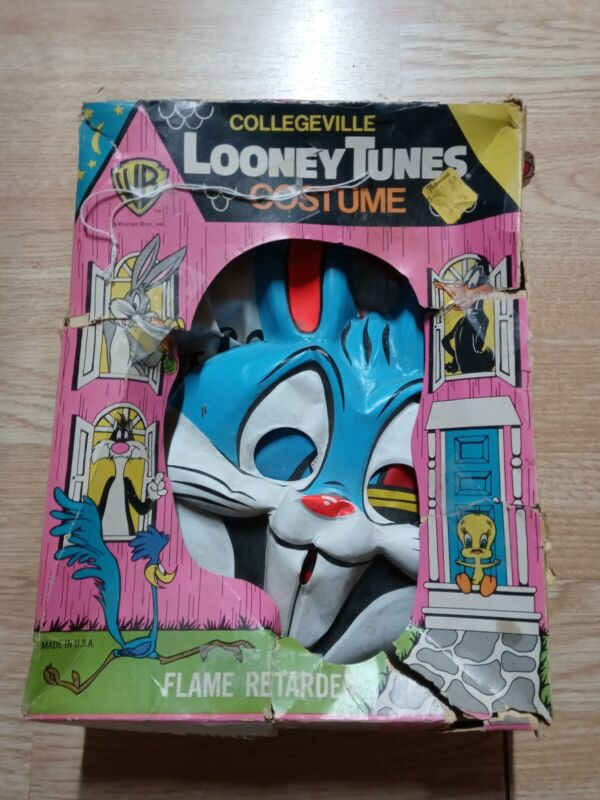 Vintage 1976-78 Collegeville Looney Tunes Bugs Bunny Costume 203 Medium