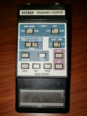 Extech Instruments Frequency Counter - Model 381200 - Functional