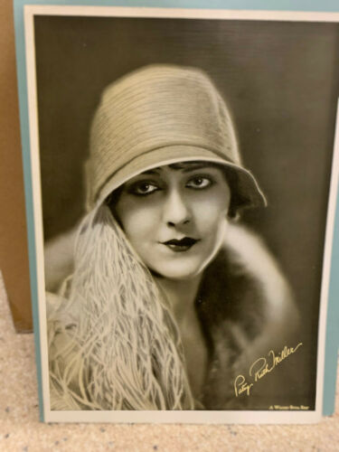 Patsy Ruth Miller - Vintage Sepia Tone WB publicity photo approx. 10x14