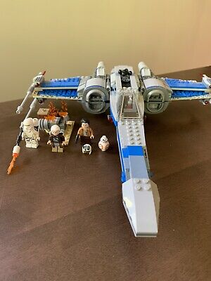 LEGO 75149 Star Wars Resistance X-wing Fighter Set Poe Dameron