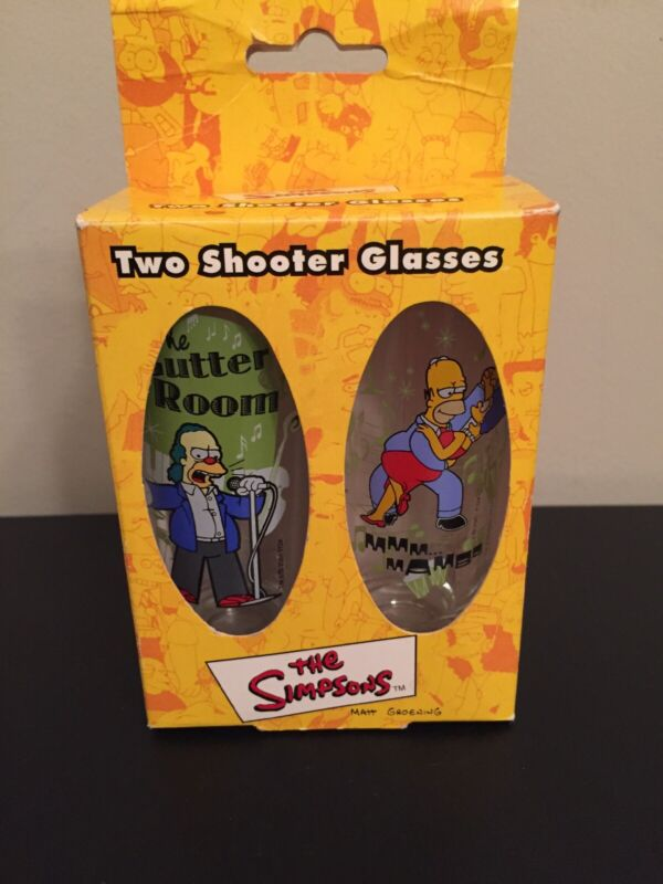 The Simpsons Two Shooter Glasses set