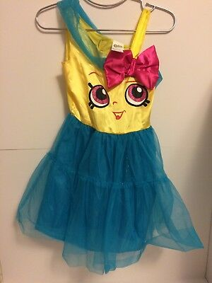 Shopkins Cupcake Queen Girls / Child Costume Size 7-8 Medium Disguise](Teen Cupcake Costume)