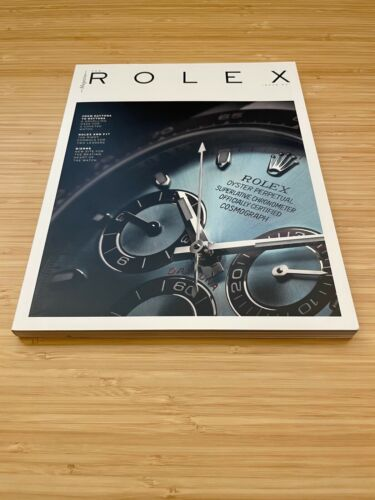 The Rolex Magazine Issue #1 Daytona Brochure Book Pamphlet Excellent Condition
