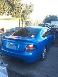 Wrecking 2010 ford falcon xr6 82000kms nitro blue Williamstown North Hobsons Bay Area Preview