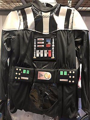 Disney Store Darth Vader 4pc Costume Boys Star Wars NEW Sith Dark Lord Boys