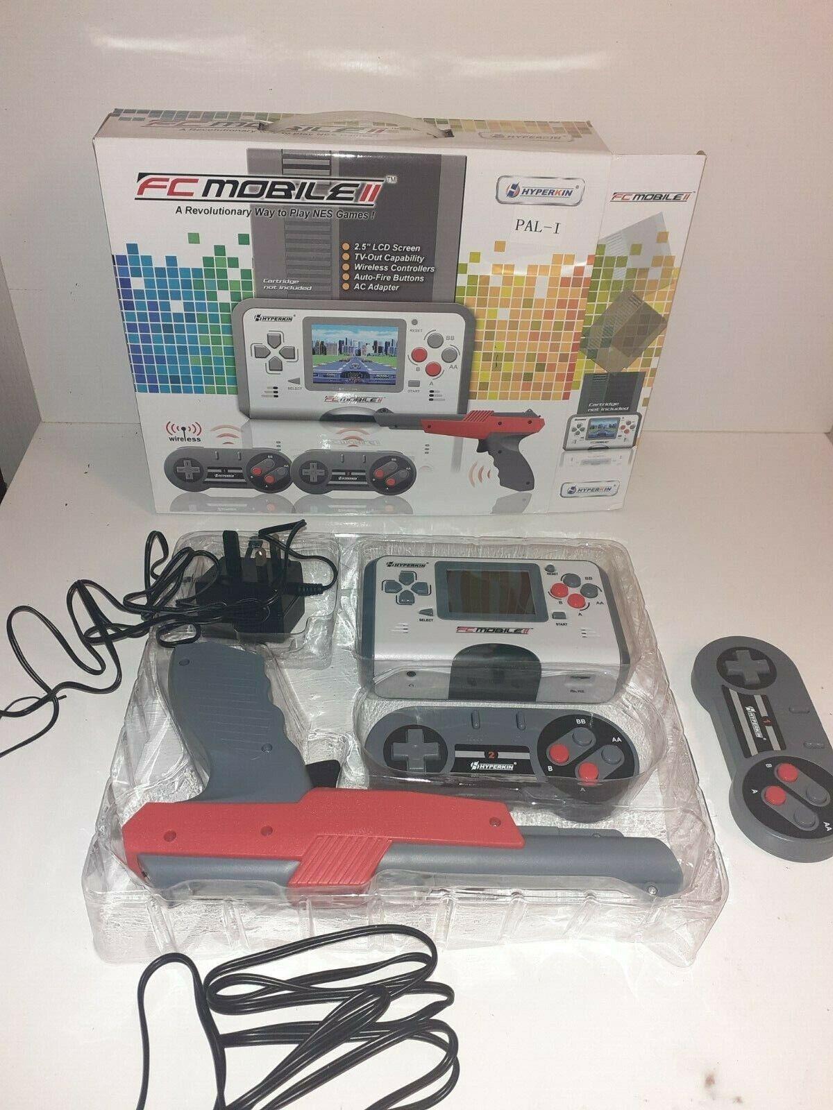 FC Mobile 2 Hyperkin für Nintendo NES Spiele PAL/NTSC