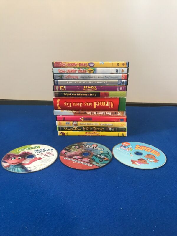 Lot Of 15 DVDs Kids Movies Sony Mixed Children Movies