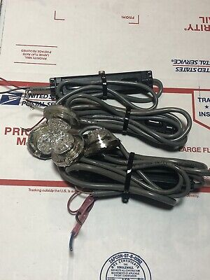 Soundoff Signal Eluc2s010j Undercover Led Insert Rb Lot Of 4