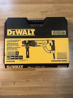 Dewalt Corded 1-18 Sds-plus Rotary Hammer Kit D25263k New Sealed