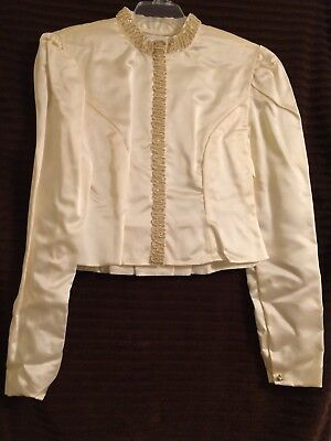 Western Show Pleasure Rail Jacket Youth LG-CUSTOM MADE/ONE OF A KIND