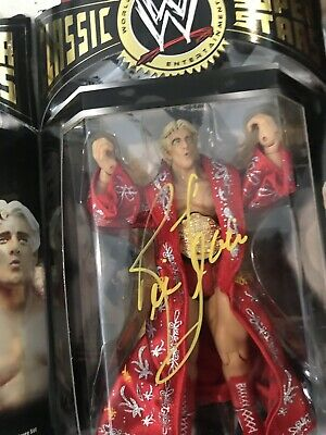 Ric Flair Red Robe Autographed Classic Figure