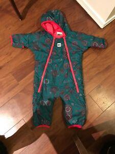 MEC 6 month girls snow suit