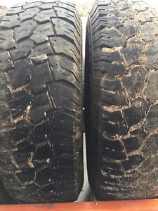 Two winter tires 225/75r16 lots of tread