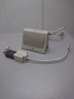 - SUN MICROSYSTEMS VINTAGE SPEAKER WITH TRANSCEIVER AND CONNECTION CABLE