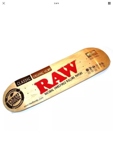 "Skateboard by Raw Rolling Papers S7 Standard 8.375X32"" Deck"
