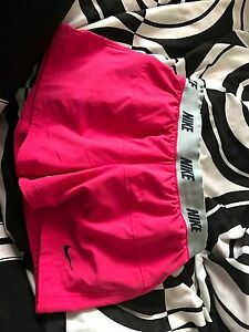 Pink Nike shorts! Size S