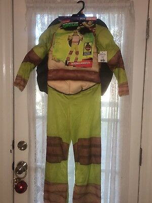 Teenage Mutant Ninja Turtles Michaelangelo Halloween Costume Child Size M 8-10 - Baby Turtle Halloween Costumes