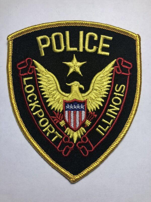 Lockport Illinois Police Patch ~ New