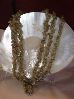 Vintage Tasmanian Aboriginal Maireener Shell Necklace   New Town Hobart City Preview
