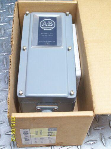 NEW ALLEN BRADLEY 836-C63J PRESSURE CONTROL SWITCH