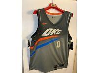 Nike NBA Oklahoma City Thunder Russell Westbrook City Swingman Jersey 912134-040