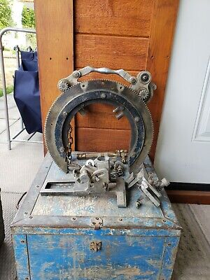 Hm Pipe Beveler Bevelling Machine Saddle With Torch