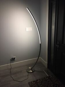 LED arc floor lamp