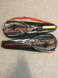 Squash Rackets and Gear