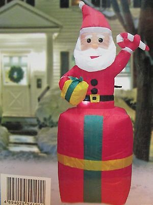 New Box for Sales - 48 in  ( 122 cm ) Lighted Christmas Inflatable ( Santa )