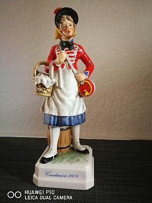 große FIGUR von GOEBEL BOCHMANN MILITARIA  SOLDAT Cantiniere 1809