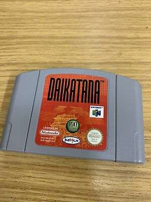 N64 Daikatana PAL Cart Only Tested